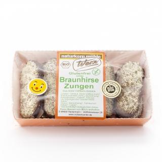 Werz Bio Braunhirse-Zungen glutenfrei