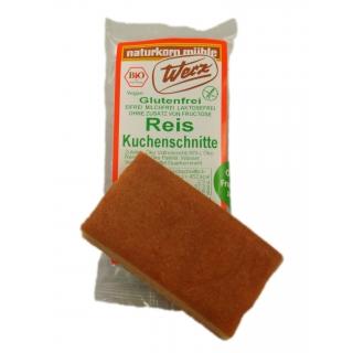 Werz Bio Reis-Kuchenschnitte