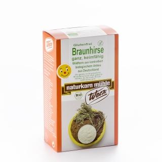 Werz Bio Braunhirse ganz keimfähig