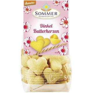 Sommer Bio Demeter Butterherzen Dinkel