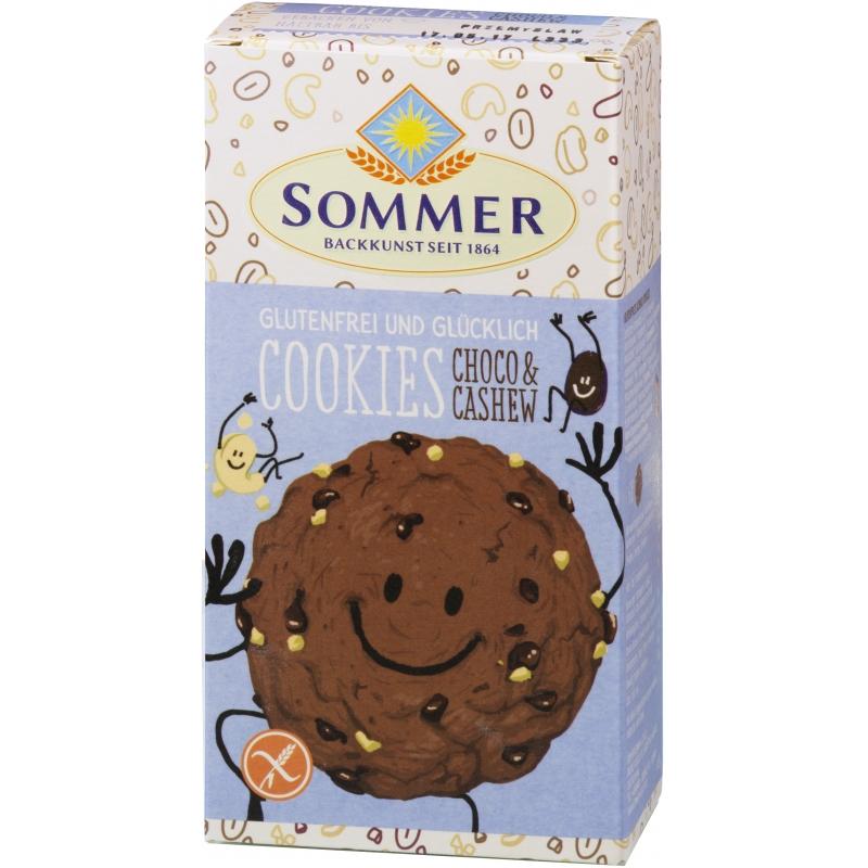 Sommer Bio Cookies Choco und Cashew