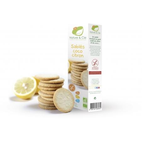 Nature et Cie Bio Kokos-Zitrone-Sablés glutenfrei