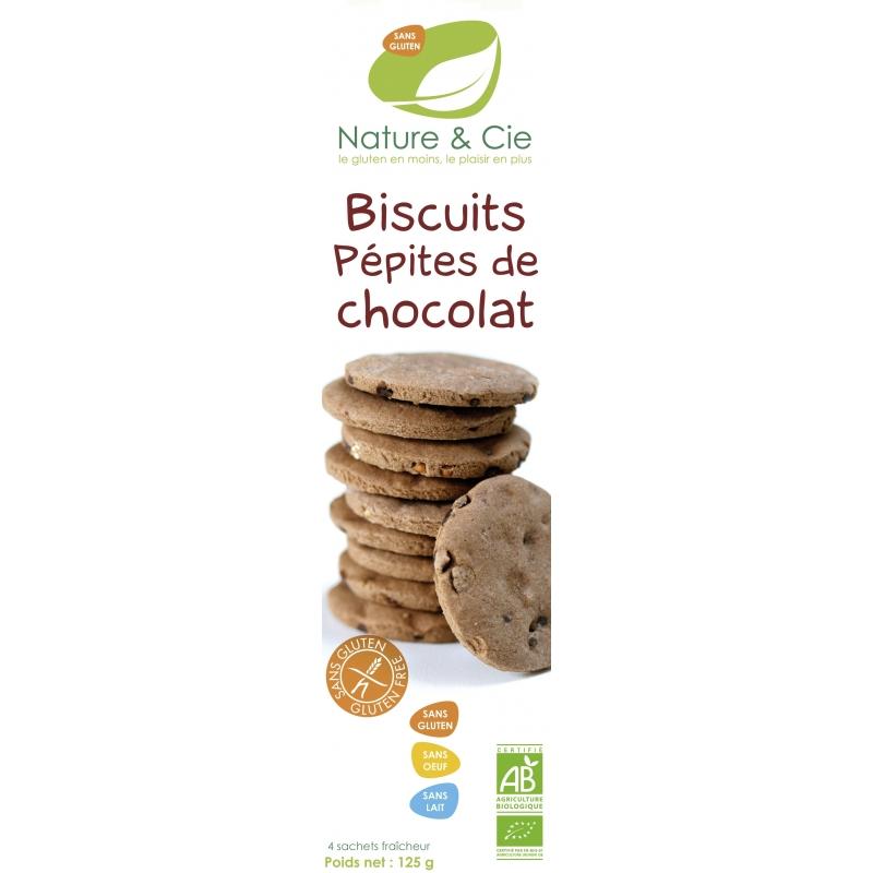 Nature et Cie Bio Schokoladenkekse mit Schokostückchen glutenfrei