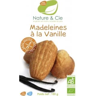 Nature et Cie Bio Madeleines mit Vanille glutenfrei