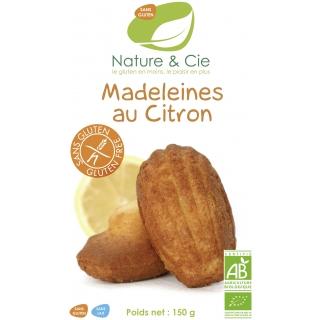 Nature et Cie Bio Madeleines mit Zitrone glutenfrei