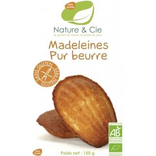 Nature et Cie Bio Madeleines mit Butter glutenfrei