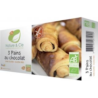 Nature et Cie Bio Aufback-Schoko-Brötchen 3 Stück glutenfrei