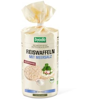 byodo Bio Reiswaffeln mit Meersalz glutenfrei