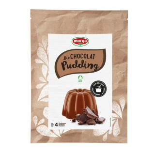 Morga Bio Pudding Chocolat glutenfrei