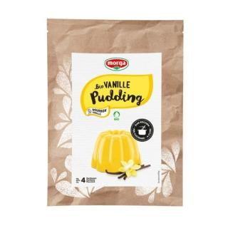 Morga Bio Pudding Vanille glutenfrei