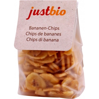 just bio Bio Bananen-Chips