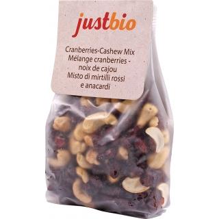 just bio Bio Cranberries-Cashew-Mix