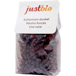just bio Bio Sultaninen dunkel