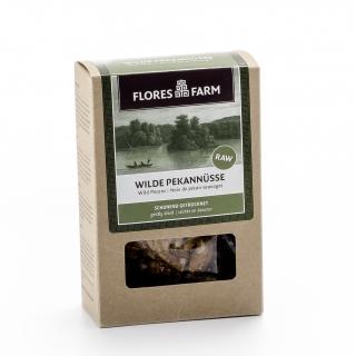 Flores Farm Bio Wilde Pekannüsse schonend getrocknet