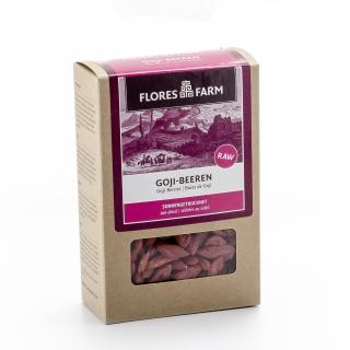 Flores Farm Bio Gojibeeren Premium sonnengetrocknet