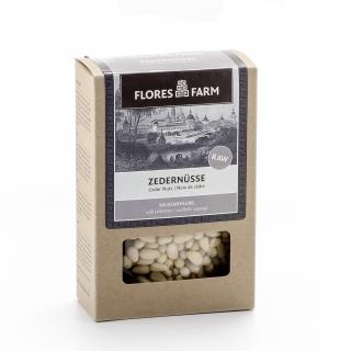 Flores Farm Bio Zedernüsse Premium Wildsammlung