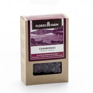 Flores Farm Bio Cranberries mit Apfelsaftkonzentrat gesüsst