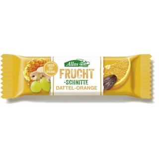 Allos Bio Fruchtschnitte Dattel-Orange