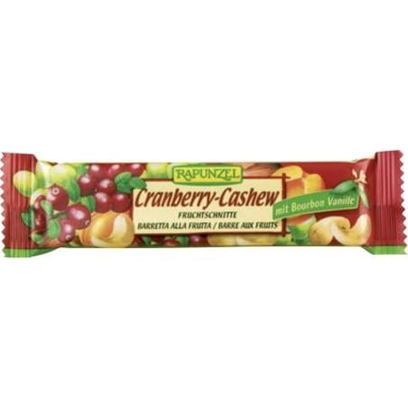 Rapunzel Bio Bio Fruchtschnitte Cranberry-Cashew