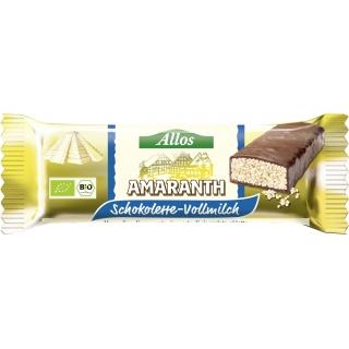 Allos Bio Schokolette Amaranth Vollmilch