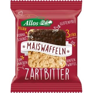 Allos Bio Maiswaffeln Zartbitterschokolade