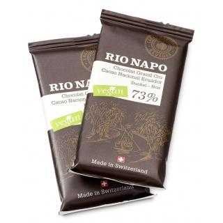 Original Food Bio Rio Napo Kakaobohnen in Schokolade 70 Prozent