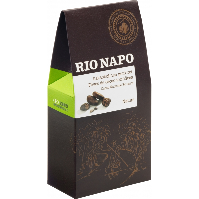 Original Food Bio Rio Napo Kakaobohnen geröstet