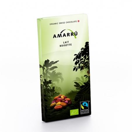 Amarru Bio Vollmilchschokolade mit Haselnüssen