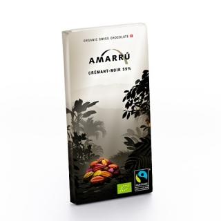 Amarru Bio Edelbitterschokolade 55 Prozent Crémant
