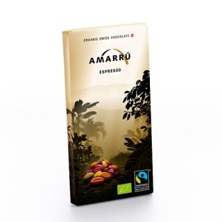 Amarru Bio Edelbitterschokolade 55 Prozent mit Espresso
