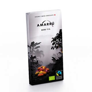 Amarru Bio Edelbitterschokolade extra 71 Prozent