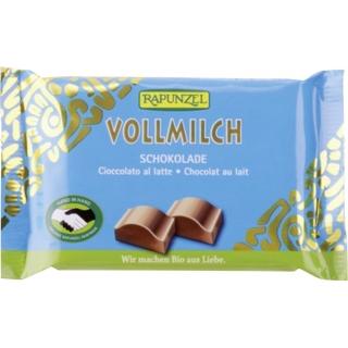 Rapunzel Bio Schokolade Cristallino Vollmilch HIH