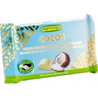 Rapunzel Bio Weisse Schokolade mit Kokosstückchen