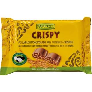 Rapunzel Bio Schokolade Cristallino Crispy