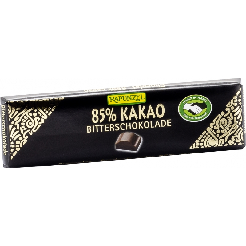 Rapunzel Bio Bitterschokolade 85 Prozent Kakao
