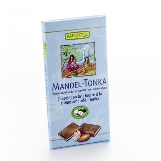 Rapunzel Bio Vollmilchschokolade mit Mandel-Tonka-Cremefüllung