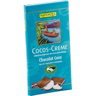 Rapunzel Bio Vollmilchschokolade 36 Prozent mit Cocoscremefüllung
