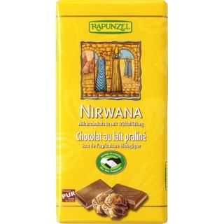 Rapunzel Bio Milchschokolade Nirwana mit Trüffelfüllung