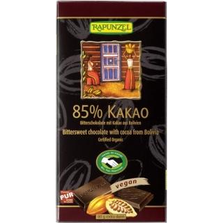 Rapunzel Bio Schokolade 85 Prozent Bitter HIH