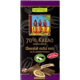 Rapunzel Bio Schokolade 70 Prozent Edelbitter HIH