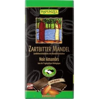 Rapunzel Bio Schokolade 55 Prozent Mandeln Zartbitter HIH