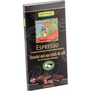 Rapunzel Bio Zartbitterschokolade 51 Prozent Espresso