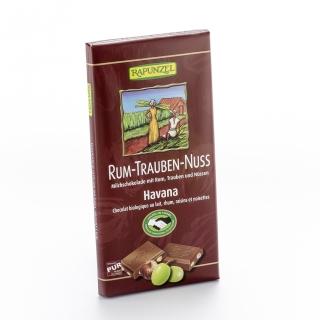 Rapunzel Bio Schokolade 36 Prozent mit Rum