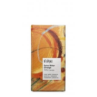 Vivani Bio Schokolade Feine Bitter Orange