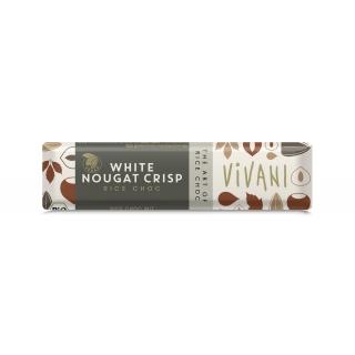 Vivani Bio Schoko Riegel White Nougat Crisp