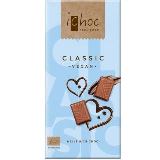 IChoc Bio Classic Reisdrink-Schokolade hell