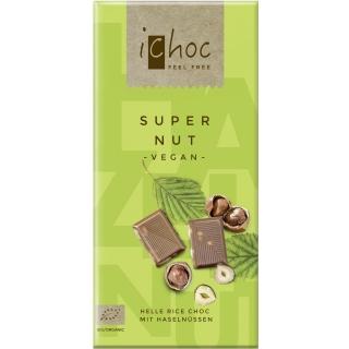 IChoc Bio Super-Nut Reisdrink-Schokolade hell