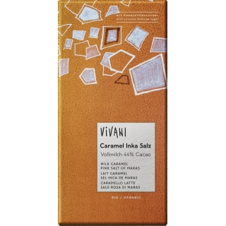 Vivani Bio Caramel Inka Salz - mit Kokosblütenzucker