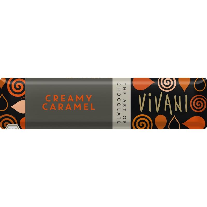 Vivani Bio Schoko Riegel Creamy Caramel