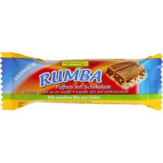 Rapunzel Bio Rumba Riegel Puffreis mit Schokolade